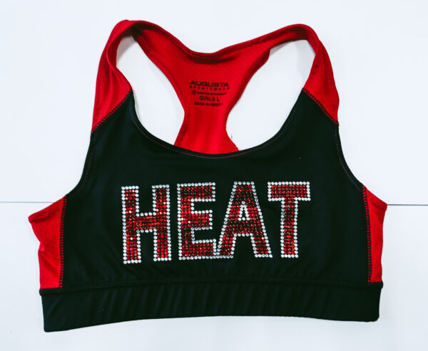 London Heat Sparkle Sports Bra