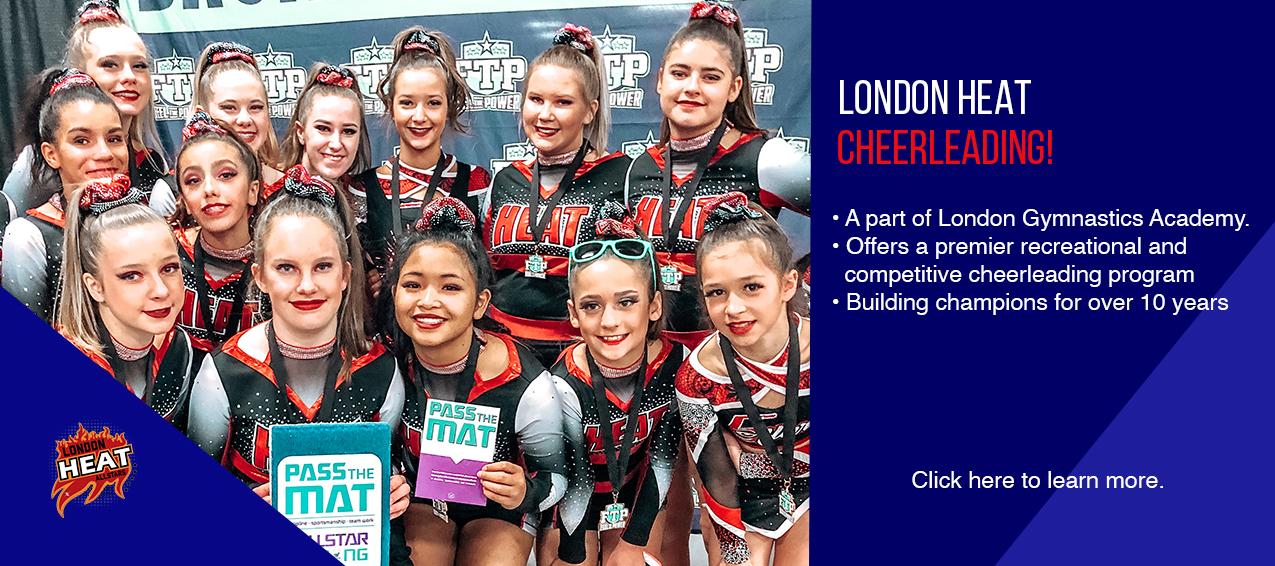 London Heat Cheerleading