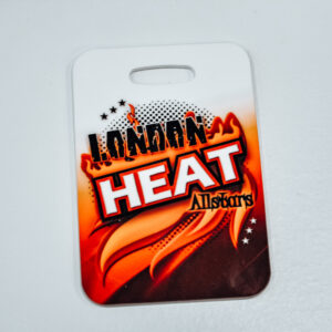 London Heat Luggage Tag