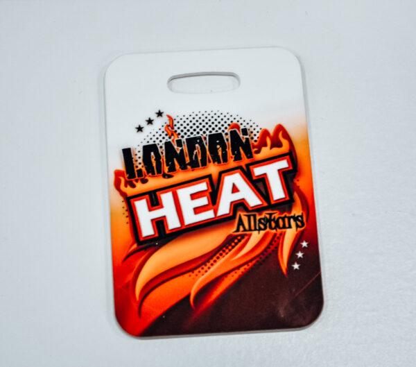 London Heat Luggage Tag