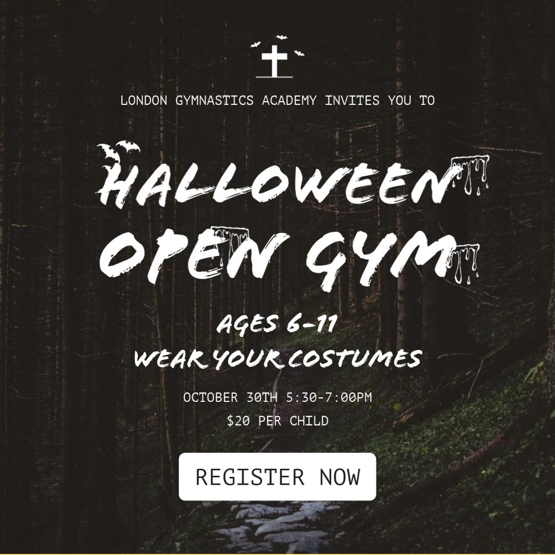 Halloween Open Gym